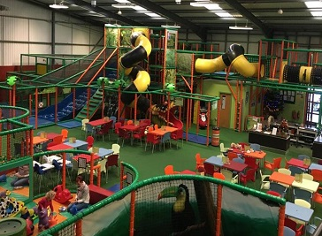 Roarsome soft play